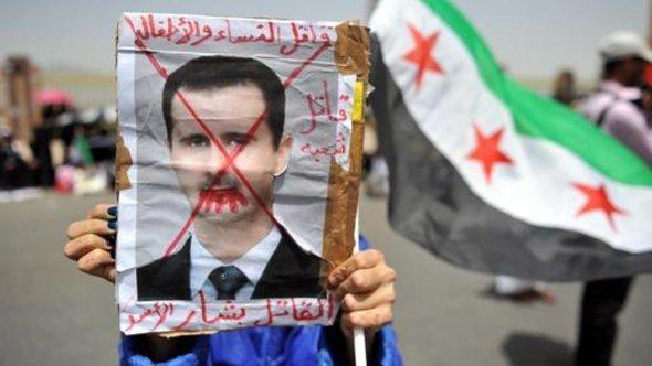 Demonstration against the Assad regime (photo: dpa)