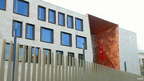 New Turkish embassy in Berlin (photo: DW)