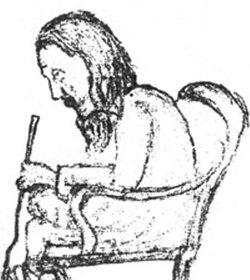 Portrait of Lalon by Jyotirindranath Tagore (source: Wikipedia)