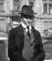 Franz Kafka, 1920 (photo: dpa)
