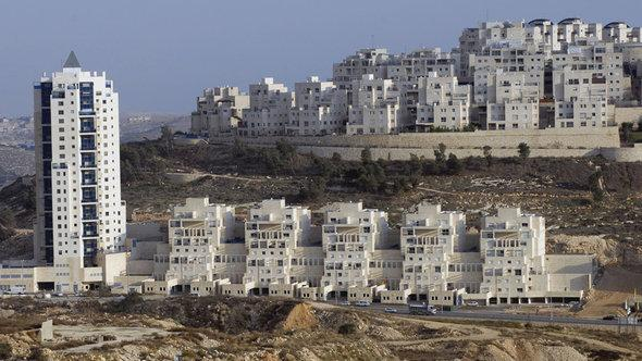 Settlement construction in Eastern Jerusalem (photo: dpa/picture-alliance)