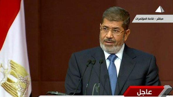 Mohammed Morsi (photo: AP)