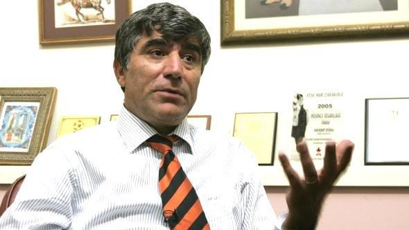 Journalist Hrant Dink talks during an interview with The Associated Press at his office in Istanbul, Turkey, in this November 2006 file photo (photo: AP)