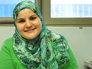 Raghda El-Ebrashi (photo: Claudia Mende)