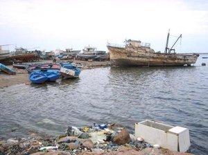 The harbour of Zarzis (photo: Beat Stauffer)