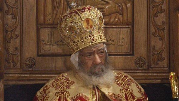The Patriarch of the Coptic Church in Egypt, Shenouda III. (photo: AP)
