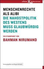 Cover of Bahman Nirumand's 'Menschenrechte als Alibi' (image: Körber Foundation)