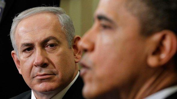 President Barack Obama (right) and Israeli Prime Minister Benjamin Netanyahu (photo: Pablo Martinez Monsivais/AP/dapd)