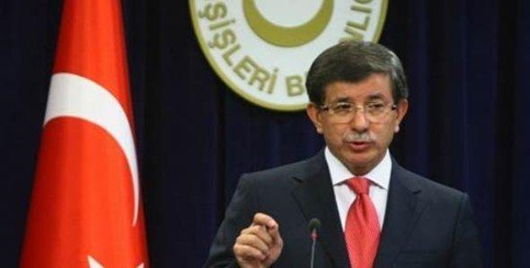 Der türkische Außenminister Ahmet Davutoglu; Foto: AP