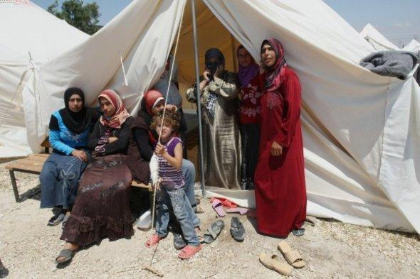 Syrian refugee camp in the province Hatay (photo: dapd)