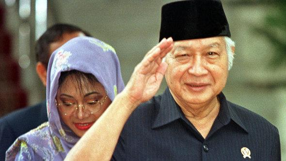 Former Indonesian President Soeharto (photo: AP Photo/Charles Dharapak)