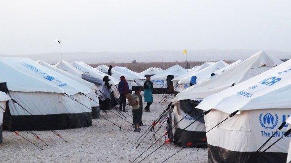 The Zaatari refugee camp in Jordan (photo: Karen Leigh/DW)