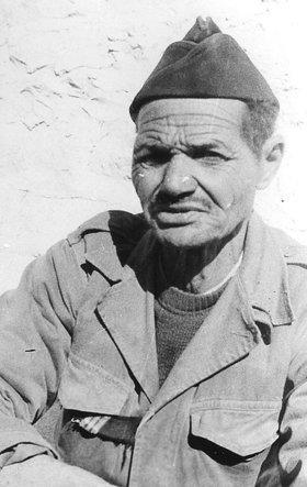 A World War ll Harki veteran, 1961 (photo: Jean Poussin / Wikipedia)