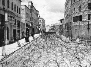 Jersualem in 1948 after the Arab-Israeli War (photo: AP)