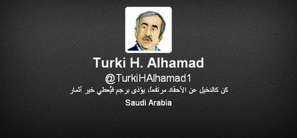 Twitter-Account of Turki al-Hamads