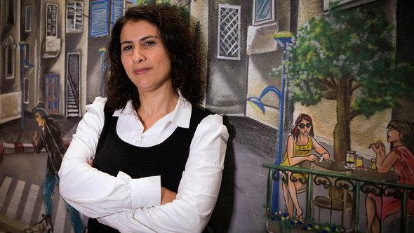 Asma Aghbaria-Zahalka, Daam party (photo: Dan Balilty/AP/dapd)