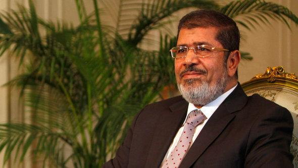 Egypt's presiden Mohamed Morsi (photo: picture alliance/dpa)