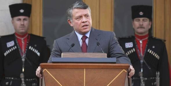 Jordan's King Abdullah II speaks to the Royal reform committee (photo: ddp images/AP Photo/Nader Daoud)