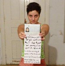 Dana Bakdounis from Syria (copyright: The uprisin of women in the Arab world)