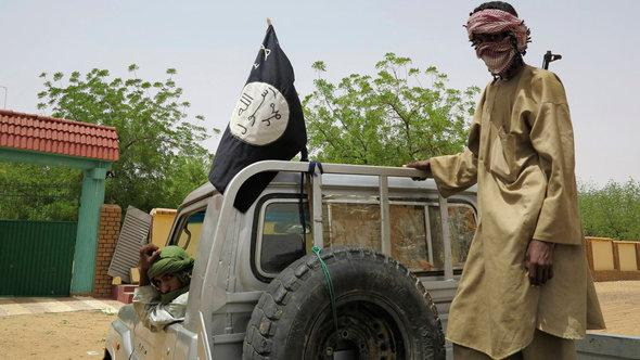 Radical Islamists in Gao, Northern Mali (photo: Reuters)