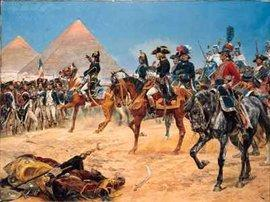Painting by Richard Caton Woddville: Bonaparte in Egypt