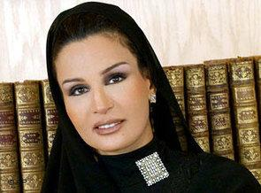 Sheikha Mozah bint Nasser Al Missned (photo: AP)