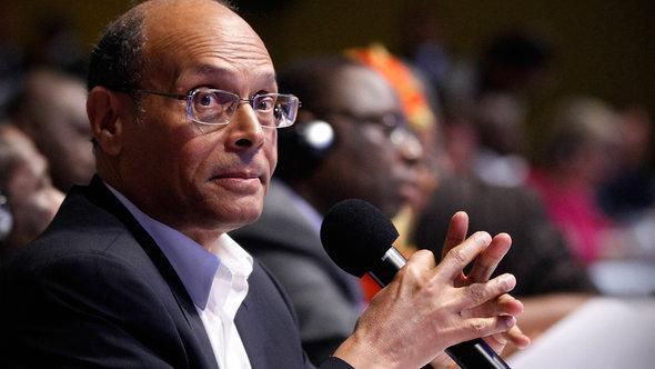 Tunisian President Moncef Marzouki (photo: Reuters)