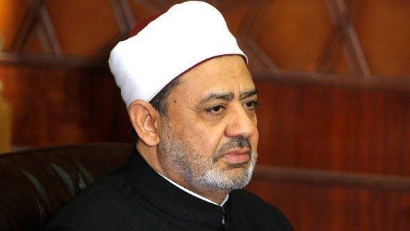 شيخ الأزهر: أحمد محمد الطيب. رويترز