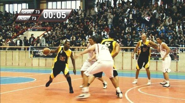 Basketball game of A.S. Shiraz (coyright: www.theiranjob.com)