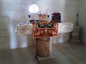Altar in the Curch of Kafro (photo: Ekrem Eddy Güzeldere)