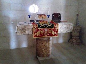 Altar in the Curch of Kafro (photo: Ekrem Eddy Güzeldere)