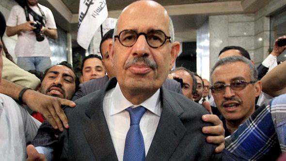 Mohammed ElBaradei (photo: picture-alliance/dpa)