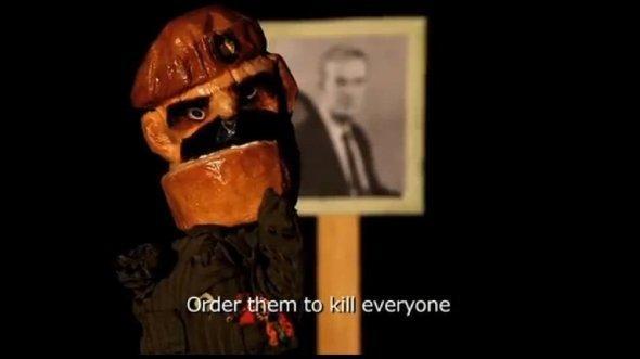 """صورة من يوتيوب: مسرح الدمى """"مصاصة متّة"""""""
