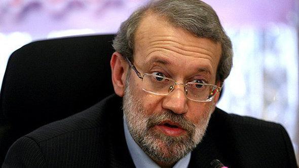 Irans Parlamentspräsident Ali Laridschani; Foto: Fars