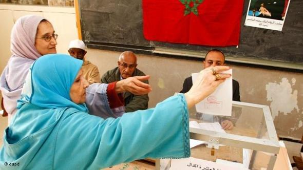 Women vote in Rabat, Morocco, Friday, Nov. 25, 2011 (photo: Abdeljalil Bounhar/AP/dapd)