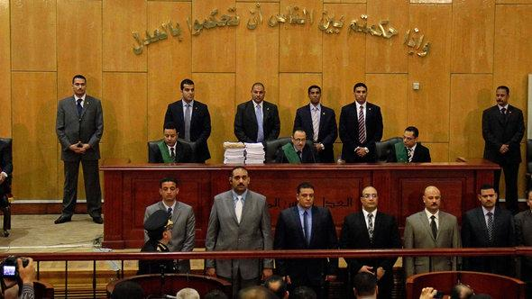 The Egyptian judiciary confirmed death sentences for involvement in the deadly soccer riots (photo: picture-alliance/AP)