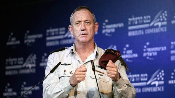 Benny Gantz, Chief of the Israeli General Staff (photo: AP)
