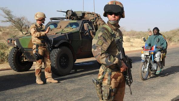 French soldiers in the Gao region in Mali (photo: Getty Images)