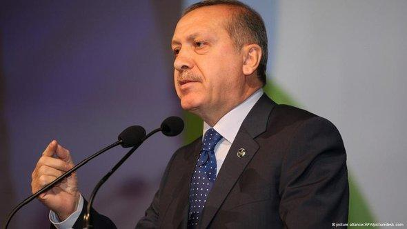 Turkish Prime Minister Recep Tayyip Erdogan (photo: picture-alliance/AP)