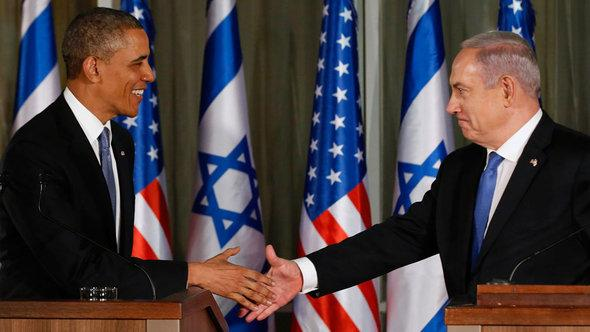 US President Barack Obama and Israeli Prime Minister Benjamin Netanyahu (photo: Reuters)