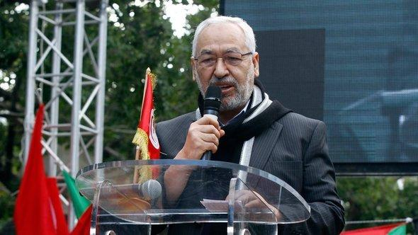 Rachid Ghannouchi, leader of the Ennahda Party (photo: Reuters)