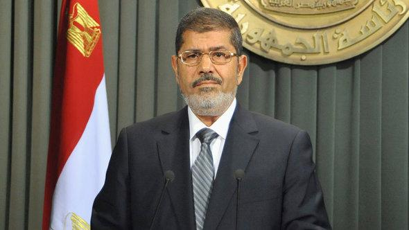 Egyptian President Mohammed Morsi (photo: Reuters)