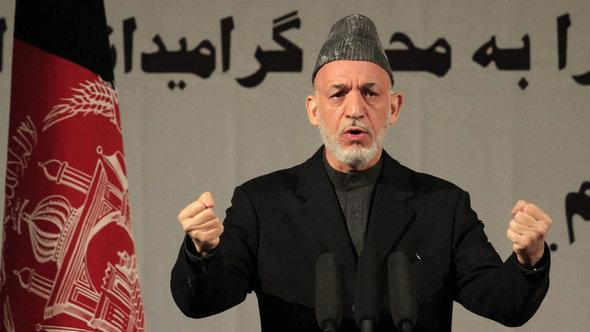 Afghanistans Präsident Hamid Karzai; Foto: Reuters