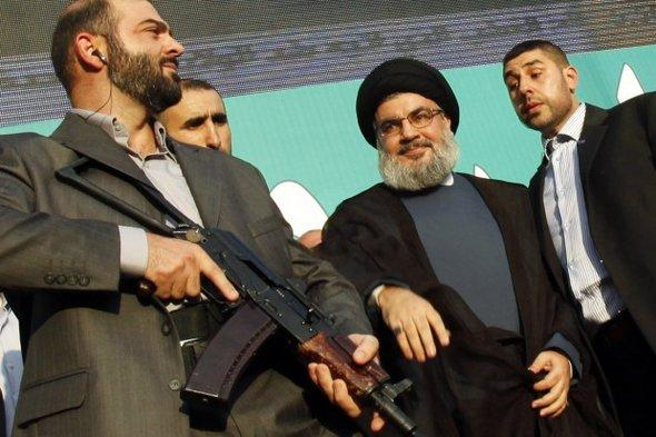 Hezbollah head Hassan Nasrallah in Beirut (photo: Reuters)