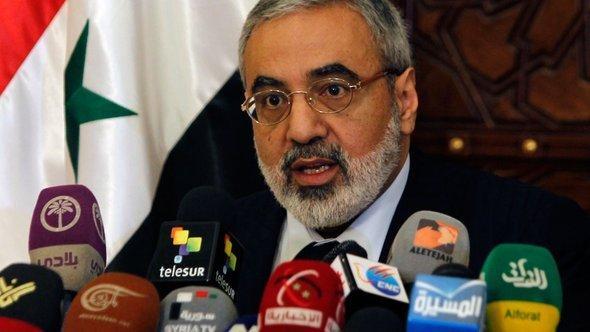 Syrian Information Minister Omran Zoabi (photo: Reuters)