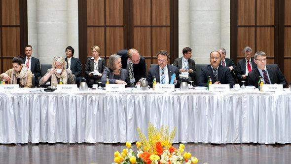 Meeting of the German Islam Conference (photo: picture-alliance/dpa)