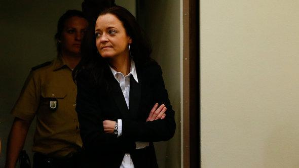 Beate Zschäpe in court (photo: Reuters)