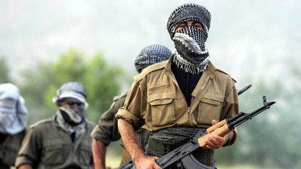 PKK fighters leaving Turkey in the direction of Iraqi Kurdistan (photo: AFP/Getty Images)