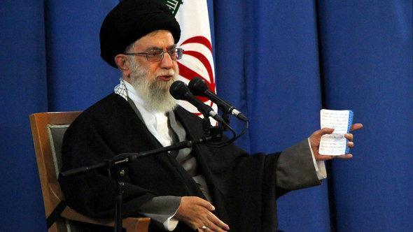 Ayatollah Khamenei (photo: dpa)