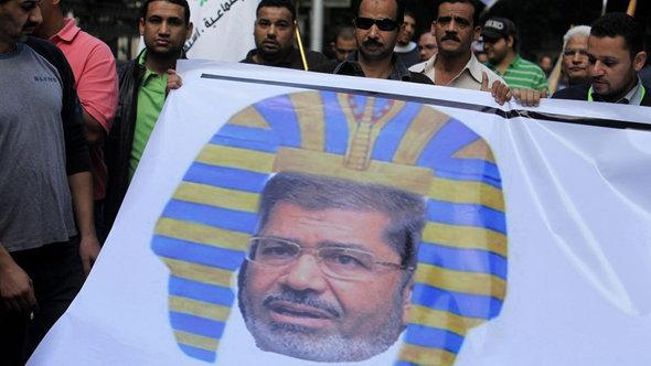 Protests against President Morsi (photo: picture-alliance/dpa)
